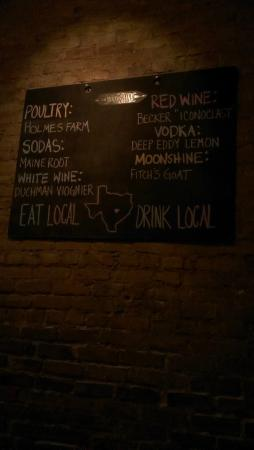 Moonshine Patio Bar U0026 Grill: Moonshine Local Menu