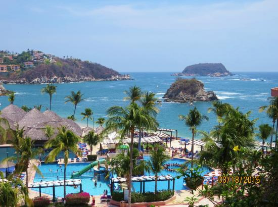 Barcelo Huatulco The View From Our Room Balcony