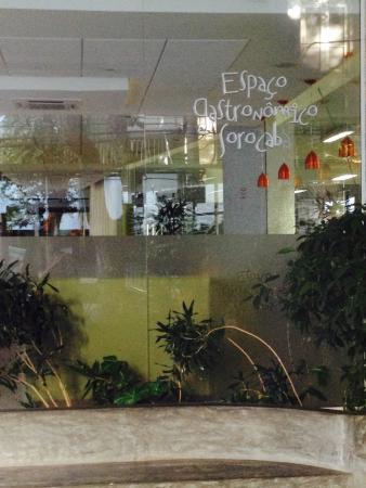 Fachada do Espaço Gastronômico Sorocaba