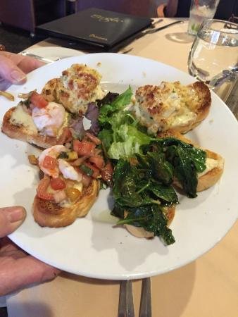 Green Tree, PA: Bruschetta awesome!!!!!