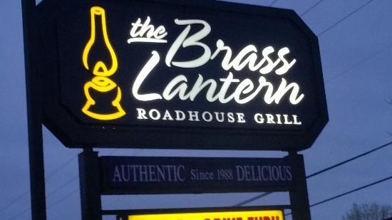 The Brass Lantern