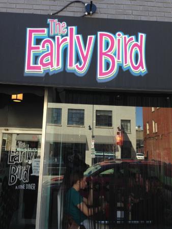 The Early Bird, Exterior