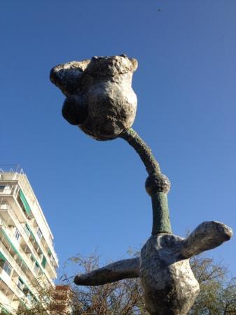Pilar and Joan Miro Foundation in Mallorca: part of the Sculpture Garden