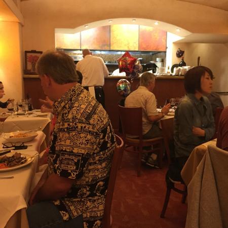 Buona Tavola: View looking toward the kitchen