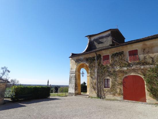 Villa Barbaro: vista laterale