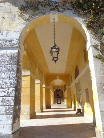 Villa Barbaro: ancora vista del porticato