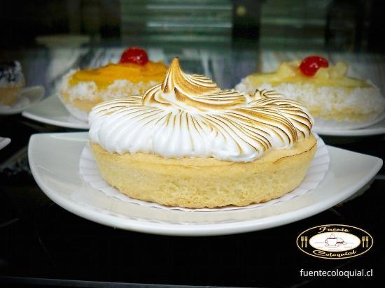 Producto de Pastelería Fuente Coloquial Linares: Pie de Limón