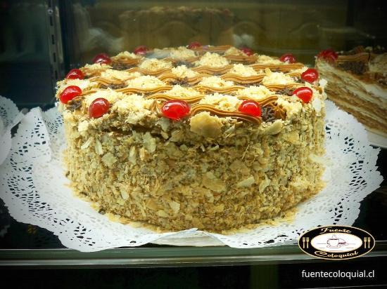 Producto de Pastelería Fuente Coloquial Linares: Torta de Mil Hojas