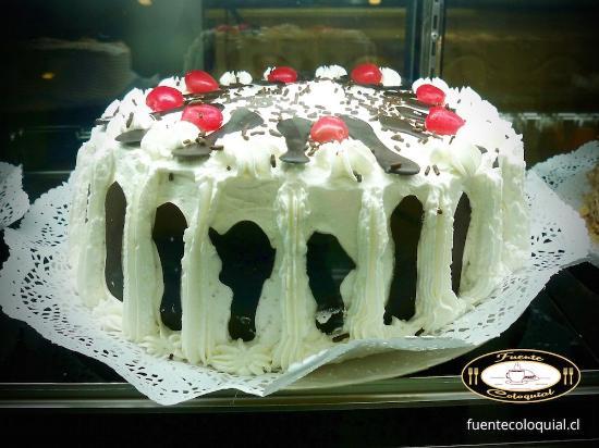 Producto de Pastelería Fuente Coloquial Linares: Torta Selva Negra