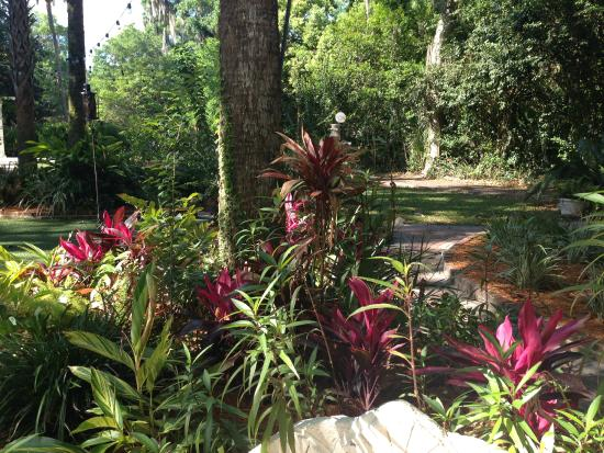 Sweetwater Branch Inn: Colourful gardens