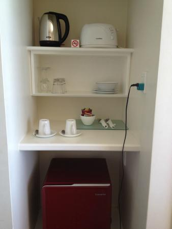 Parnell Inn: Kitchenette