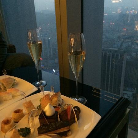 The Westin Qingdao: executive lounge