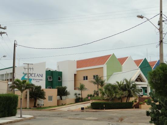 Oceani Beach Park Hotel Fachada