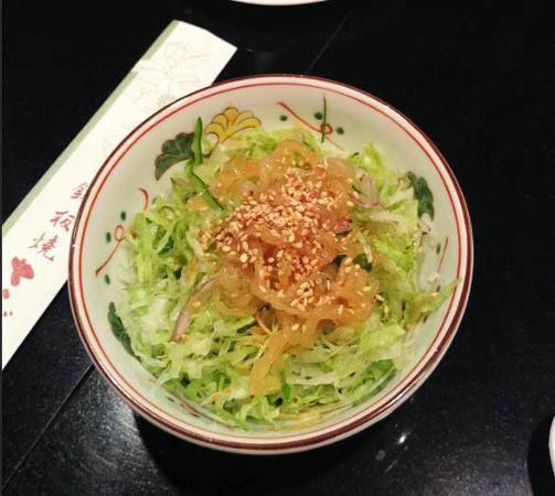 Sazanka: yummy salad