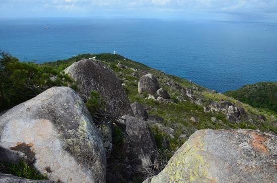 Fitzroy Island National Park: your reward for reaching the summit