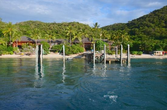 Fitzroy Island National Park: The ferry jetty and Fitroy Island Resort