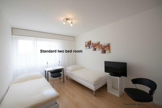 Apaliving Basel - Budget Hotel: Zweibettzimmer Standard