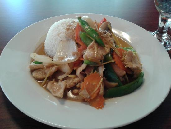 Jasmine thai cuisine greenville restaurant reviews for Jasmine cuisine