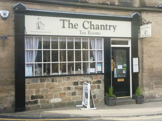 The Chantry Tea Room: Simple view from outside.