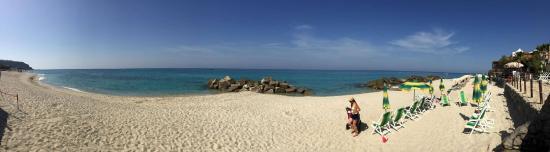 Villaggio Tramonto: Spiaggia Privata