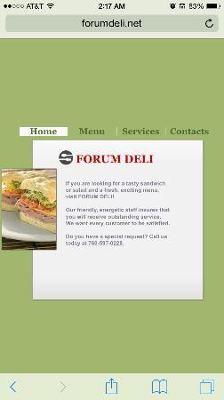 Forum deli