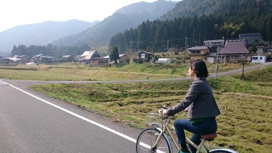 Miyama Futon&Breakfast thatched cottages: Cycling