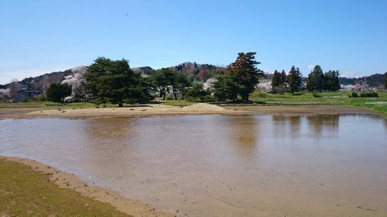Site of Muryoko-in : 無量光院跡と金鶏山