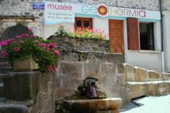 Chaudes-Aigues, France: GEOTHERMIA (musée européen de la géothermie et du thermalisme)