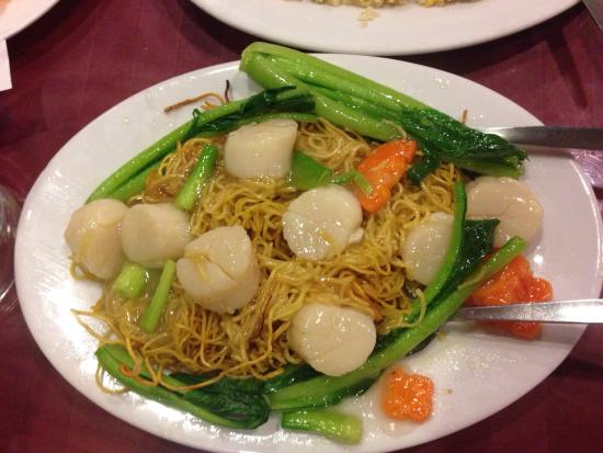 Lee Central Park Chinese Restaurant: Scallops Chow Mein