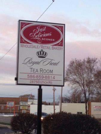 Just Delicious Scones & the Royal Treat Tea Room