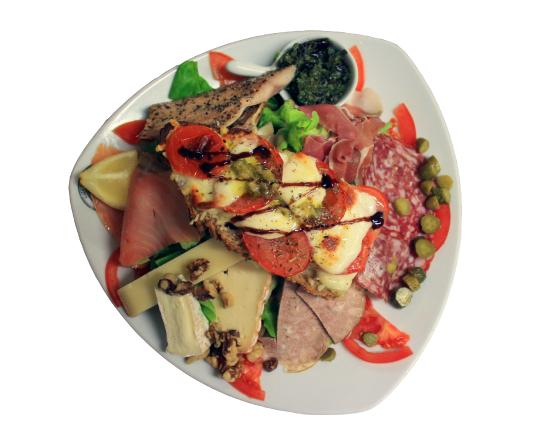 Cafe Ty Pierre Roscoff : salade roscoff