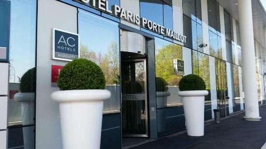 Camera picture of ac hotel paris porte maillot paris for Hotel paris porte maillot