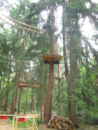 Vaterstetten Kletterpark: Ketterpark Vaterstetten - percorsp