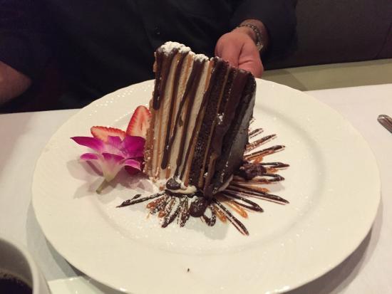 Dewz Restaurant: My colleague's dessert