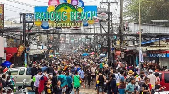 Pour Songkran Le Nouvel An Thai En Avril Picture Of