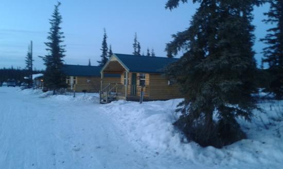 Slide Mountain Cabins: Las cabañas donde nos alojamos parte del grupo