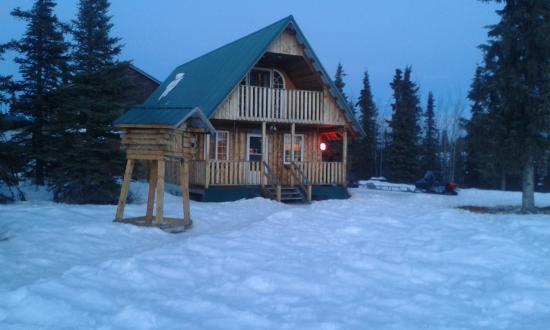 Slide Mountain Cabins: Otro angulo de la cabaña