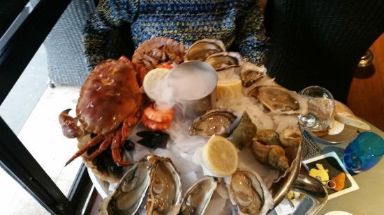 Le Bar à Huîtres Place des Vosges  : Плата с морепродуктами