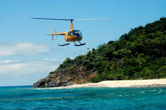 Beach Landing On Helicopter Tour  Picture Of Virgin Island Life Concierge S