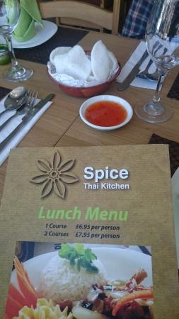 thai spice perfect place lunch