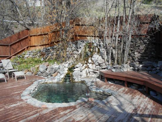 outdoor heated pool picture of wiesbaden hot springs spa lodgings ouray tripadvisor. Black Bedroom Furniture Sets. Home Design Ideas