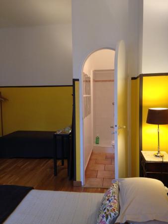 Le 45 BB : chambre safran