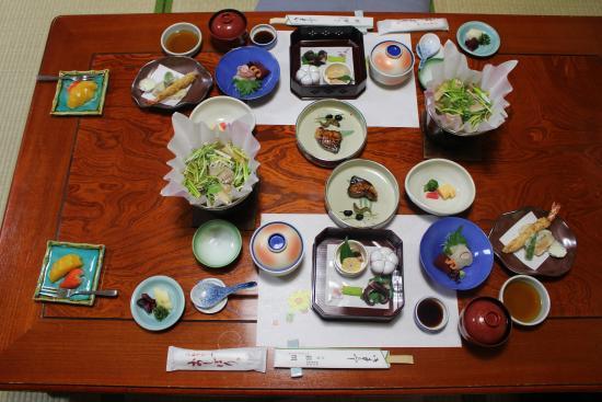 Ryokan Ginkaku: Dinner