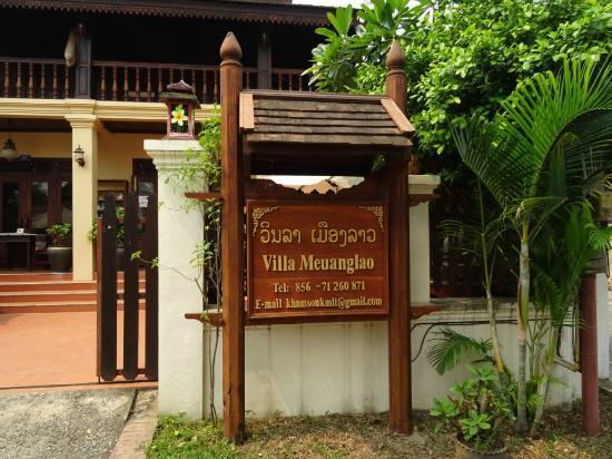 Villa Meuang Lao: outside