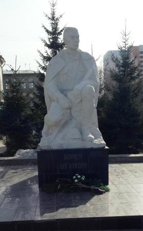 Памятник Борису Богаткову
