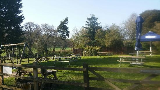 The Dog and Pheasant: Pub Garden