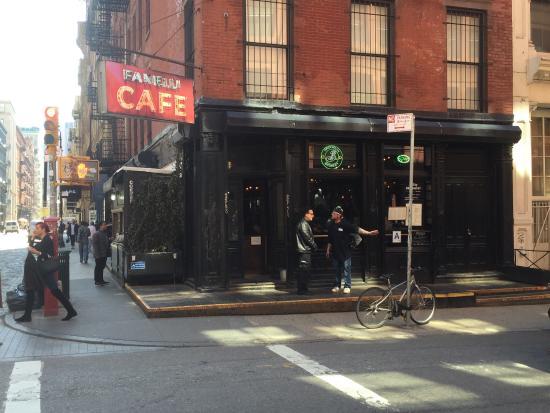 Fanelli Cafe New York Ny