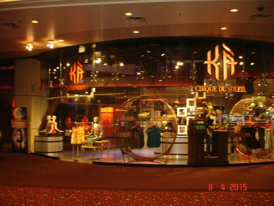 Ka shop picture of ka cirque du soleil las vegas - Boutique du grand cirque ...