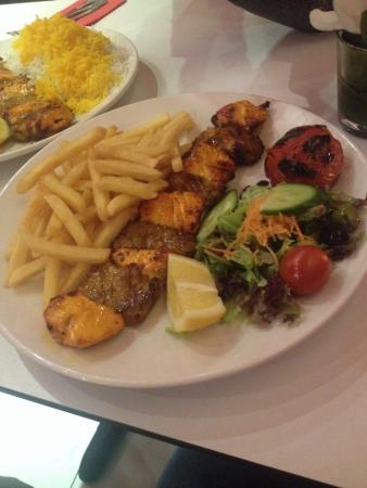 Manoush Cuisine: Kebab