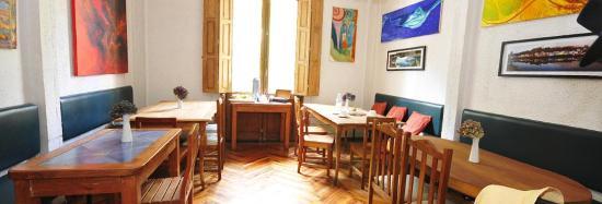 Hostel Lucia Suites: Comedor